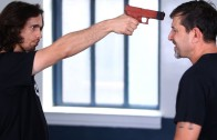 How to Defend against a Gun to the Face | Krav Maga Defense