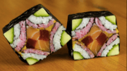 How To Make a Mosaic Sushi Roll