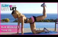 Butt Workout 1: Tone Up | 30 DAY BUTT LIFT